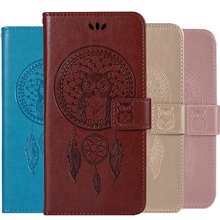 Fashion Lovely Owls Leather Flip Cover For Motorola MOTO G30 G10 G7 Plus G8 Play G9 Power G Stylo 2021 Stylus Wallet Case Shell