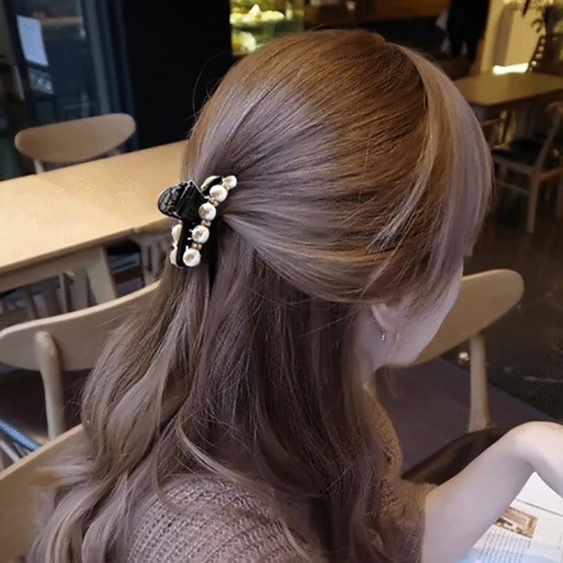 Pearl Crystal Hair Clips Rhinestones Beads Hairgrip Hairpins Ornaments Barrette Hair Claw For Women Hair Accessories