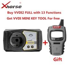 Xhorse Version complète VVDI2, avec toutes autorisations, pour Audi/BMW/Porsche/PSA Plus, BMW FEM, BDC, ID48, 96bit, ID48, obd2, MQB