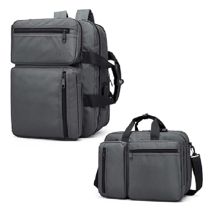 Men Anti-theft Briefcase Rucksack 14 Inch Laptop Notebook Business Casual Shoulder Messenger Laptop Briefcases Men Bag