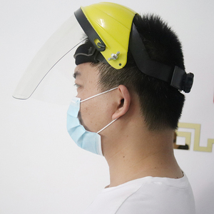 Image 5 - Anti choque protetor máscara facial completa capacete de soldagem anti uv segurança clara anti respingo escudo viseira suprimentos de proteção de local de trabalho