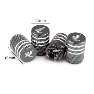 Image 1 - 4PCS Alloy Covers for Honda Civic Accord Fit Jazz CRV HRV Crosstour City Odyssey Insight Pilot Car Wheel Tire Valve Caps Styling