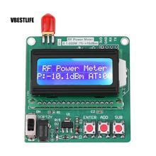 Точный измеритель мощности цифровой lcd RF измеритель мощности-75~ 16 дБм 1-600 МГц значение затухания радиочастоты при затухании дБ модуль