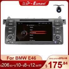 Eunavi 1 Din Android 10.0 Auto Dvd speler Voor Bmw E46 M3 Rover 3 Serie 7 Inch Radio Stereo Gps navigatie Head Unit Wifi Dsp Usb