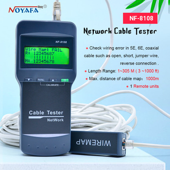 High Quality NOYAFA NF-8108 Network tester Length of cable breakpoint tester wire line finder NF_8108