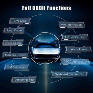 Image 5 - Uruchom CRP469 WIFI OBD2 samochodów skaner samochodowy narzędzie diagnostyczne ABS EPB DPF TPMS Reset OBD 2 Auto czytnik kodów skaner OBD2
