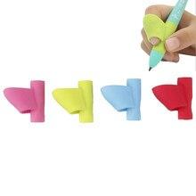 3 Pçs/lote Silicone Lápis Caneta Escrita Aid Ferramenta de Correção de Postura de Pega Presente Para As Crianças Crianças Estudantes Atacado