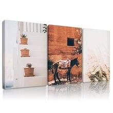 Греческий настенный Художественный набор в рамке холст картина