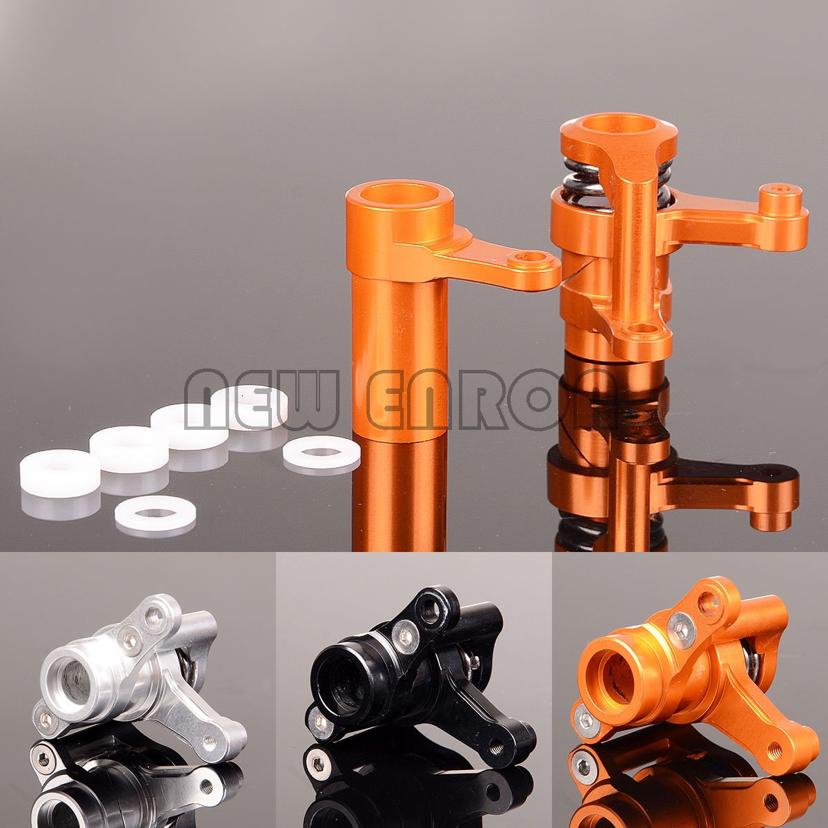 NEW ENRON ALUMINIUM Steering Assembly AX31122 YTL048 FOR AXIAL 1/8 YETI XL 90026 90024 90015 Parts & Accessories     - title=