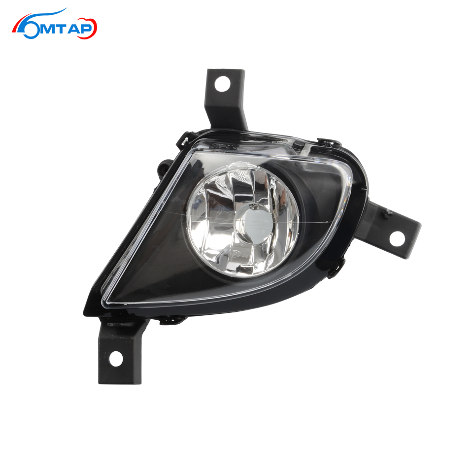 MTAP For <font><b>BMW</b></font> <font><b>E90</b></font> E91 LCI 2009-2012 <font><b>Front</b></font> Bumper Fog <font><b>Light</b></font> Fog Lamp Anti-Fog Lamp For 318 320 325 328 330 335 Not For M Sport Car image