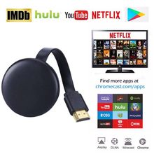 Voor Google Chromecast 2 3 Chrome Crome Cast Cromecast Nieuwste Hdmi Wifi Display Dongle Netflix Youtube Airplay Miracast Tv Stick(China)