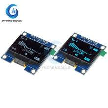 1.3 polegada oled display módulo 128*64 tela lcd branco/cor azul 7 pinos iic i2c interface sh1106 controlador de driver para arduino
