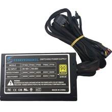 Настоящий блок питания 600 Вт для ПК 600 Вт ATX блок питания PSU PFC тихий вентилятор ATX 24pin 12В ПК компьютер SATA игровой ПК PSU