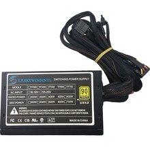 Real 600W แหล่งจ่ายไฟสำหรับ PC 600W ATX PSU แหล่งจ่ายไฟ PSU PFC เงียบพัดลม ATX 24pin 12V PC คอมพิวเตอร์ SATA Gaming PC PSU