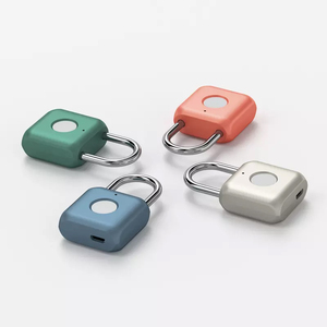 Image 5 - Youpin USB Rechargeable Smart Keyless Electronic Fingerprint Lock Home Anti theft Safety Security Lock Door Luggage Case Lock