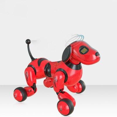Robot Dog Pet Elettronico Cane Intelligente Robot Giocattolo 2.4G Wireless Intelligente Parlare di Controllo A Distanza Scherza il Regalo Per Il Compleanno Di Natale - 3