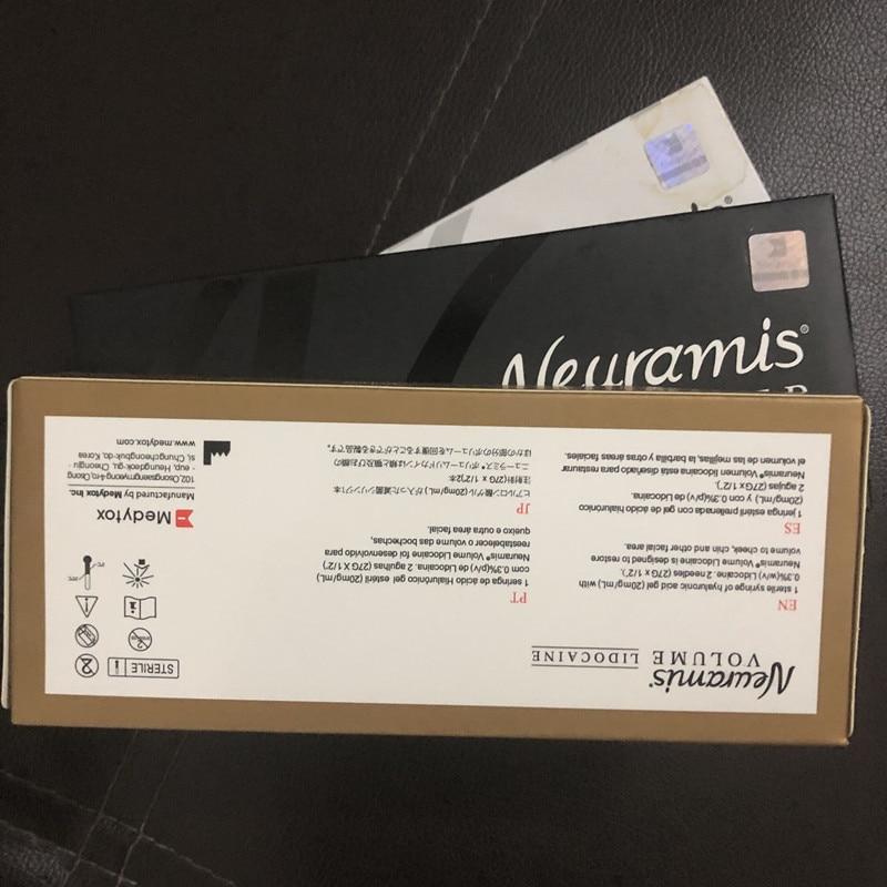 Неурамис 1 мл губы Гиалуроновая кислота сшитого HA увеличения губ использовать для Гиалуроновый ручка для наконечники для тату-машинок напо...