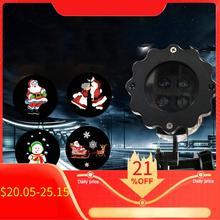 Светодиодный проектор с анимированным освещением, беспроводной пульт дистанционного управления, кино шоу для рождества, Хэллоуина, праздника, вечеринки, Нового года, EU, US Plug