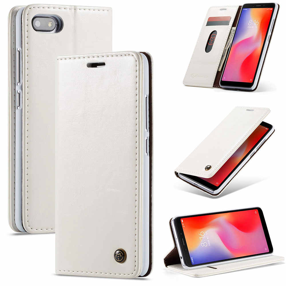 Kisscase Retro Da PU Dành Cho Samsung S8/S9/S10 Plus S10 5G S10E S7 Edge Note 8 9 A5 A6 A7 A8 A9 A30 A40 A50 A70 J6 Plus