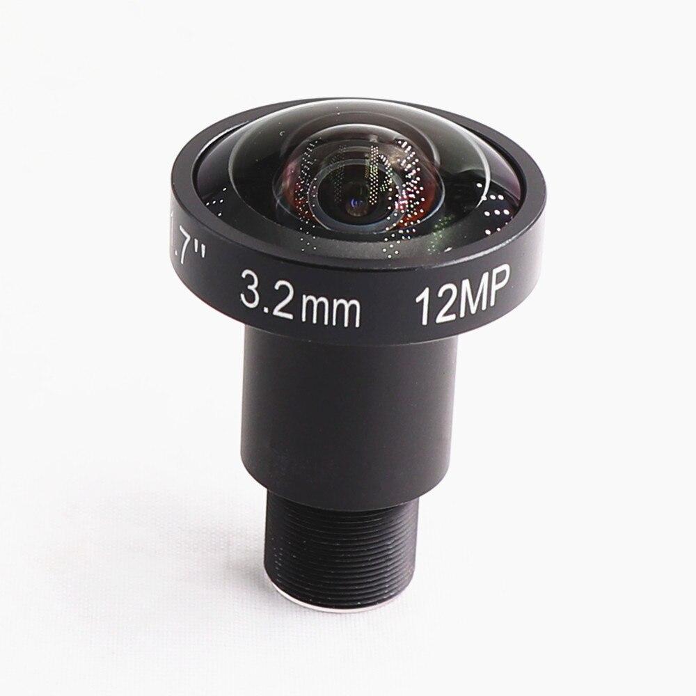 12MP 3,2 мм ручной фиксированный фокус M12 крепление объектива