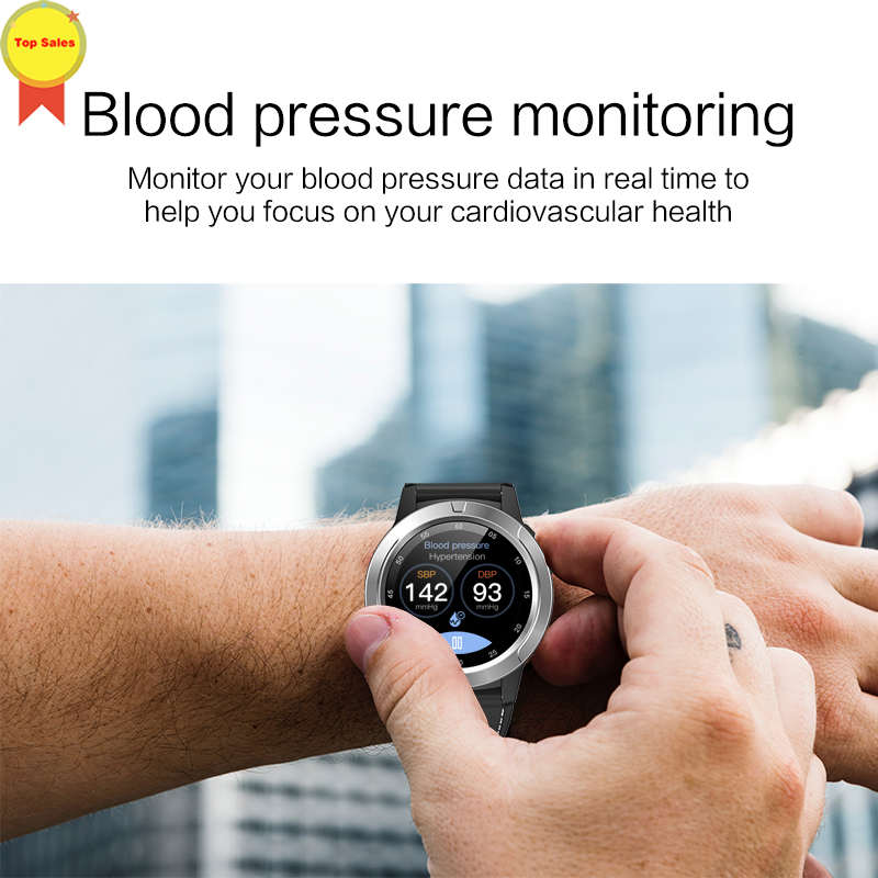 Smart-Watch Monitoring Barometer Blood-Pressure-Heart-Rate Running Riding for Men Elder