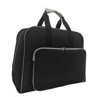 Многофункциональная сумка для швейной машины, дорожная Портативная сумка для хранения, чехол для переноски с карманом для хранения, швейны...