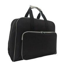 Bolsa para máquina de costura portátil, nova bolsa para máquina de costura multifuncional com armazenamento, artesanato e viagem, ferramenta de costura