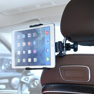 Image 5 - Microphone Stand Cell Phone Holder Microphone Mount Small Stand 360° Car Back Seat Telephone Phone Holder Mic Stand Bracket