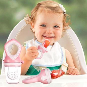 Gryzak dla niemowląt smoczek dla niemowląt karma dla niemowląt silikonowy podajnik dla niemowląt gryzak dla niemowląt gryzak dla niemowląt maluch klips do sutków noworodek tanie i dobre opinie CN (pochodzenie) 6 miesięcy W wieku 0-6m 7-12m 13-24m W stylu rysunkowym Fruit Food Silicone Feeding Baby Teether Pacifier