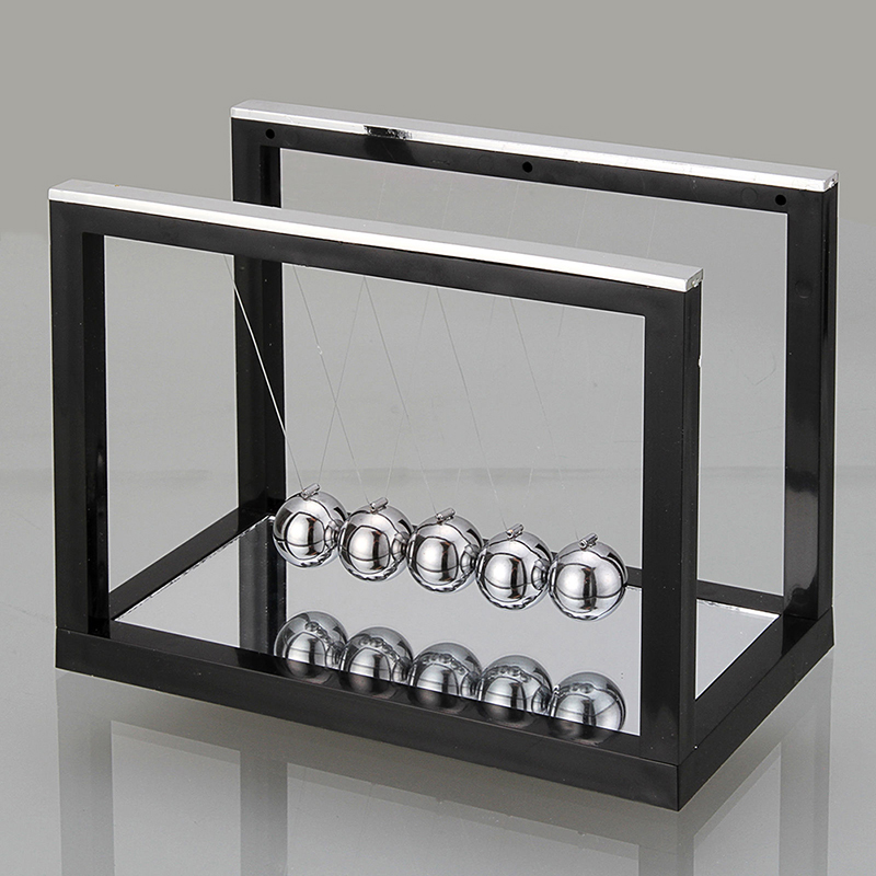 Newton's Cradle Desk Table Decor Metal Pendulum Ball Newton Ball Physics Science Pendulum Steel Balance Ball