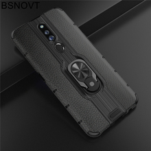 For OPPO F11 Pro Case TPU+PC Finger Holder Hard Anti-knock Phone Case For OPPO F11 Pro Cover For OPPO F11 Pro Case 6.53 BSNOVT швабра topoto f11