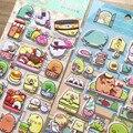 Милые японские Мультяшные 3d-наклейки Sumikko Gurashi s для скрапбукинга «сделай сам», наклейки для журнала, дневника, канцелярские наклейки s