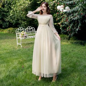 Image 2 - Платья подружки невесты, длинное женское платье для гостей свадьбы, платья для праздника, вечернее платье, 30069