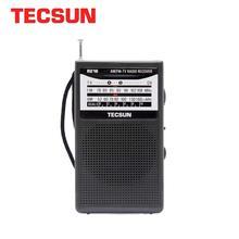 TECSUN R 218 AM/FM/TV Radio Sound Pocket Receiver with Built In Speaker Portable Radio FM:76.0 108.0MHz Internet Radio