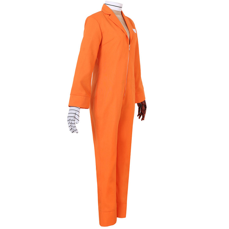 Anime-Nanbaka-Detentionhouse-Niko-Rock-Cosplay-Costume-Unisex-Adult-Jumpsuits-Halloween-Carnival-Jail-Uniforms-Custom-Made (2)