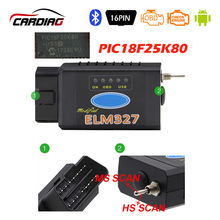 ELM 327 USB Bluetooth Works on Forscan For Ford HS CAN /MS CAN V1.5 car OBD2 diagnostic Tool ELM327 USB FTDI chip for Optional