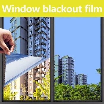 Pellicola per vetri a specchio unidirezionale vinile adesivo per vetri tinta per vetri Flex fusibile trasferimento pellicola per specchio oscurante decorazioni per la casa