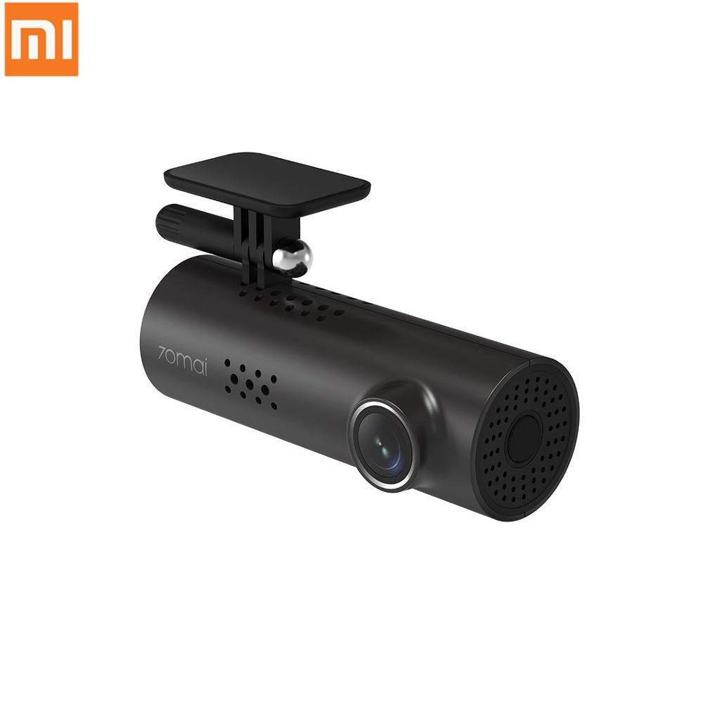 Newest Xiaomi 70mai Dash Cam 1S Car DVR Wifi Voice Control Dashcam 1080P HD Night Vision Car Camera Video Recorder G-sensor image