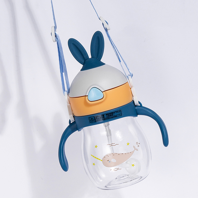 حار زجاجة رضاعة للأطفال مكافحة المغص الهواء تنفيس واسعة الرقبة الطبيعية التمريض زجاجة تستخدم في الرضاعة للرضع BPA الحرة 270 مللي الطفل زجاجات منتجات العناية الشخصية 5