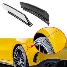 Для Mercedes Benz A Class W177 хэтчбек A180 A250 A35+ задний бампер отделка губ Стикеры для спойлера колеса бровей крыло Canards