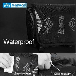 Image 2 - INBIKE Waterproof Bike Bag Large Capacity Handlebar Front Tube Bag Bicycle Pocket Shoulder Backpack Cycling Bike Accessories