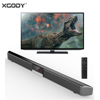 XGODY Home Theater Soundbar TV SR100PLUS 40W Bluetooth 4.0 Sound Bar Wireless Speaker System Subwoofer AUX OPT Remote Control
