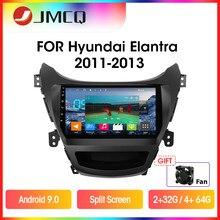 JMCQ – autoradio Android 2011, navigation GPS, lecteur multimédia, écran partagé, 2 din, unité centrale pour voiture Hyundai Elantra Avante I35 (2013 – 9.0)