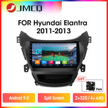 Car-Radio Multimedia-Player Screen-Head-Unit I35 Split JMCQ Avante Hyundai Elantra Android 9.0