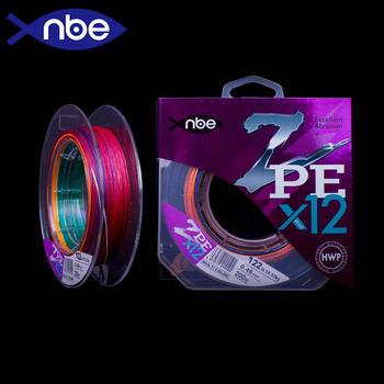 nbe X12  200m PE Braid Fishing line super strong 12 Strands Multifilament Fishing Wire Carp Fishing цена 2017
