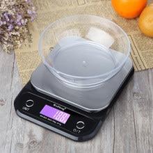 Balance numérique de précision 3kg/5kg/10kg/0.1g LED Balance de cuisine électronique Portable Balance alimentaire