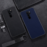Carbon Fiber Case Voor Xiaomi Redmi Note 8T Case Silicon Bumper Voor Xiomi Mi Note 10 Lite Mi 9T 8 9 Pro 7 8A 6A S2 K20 6 Cover