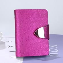 1PC Unisex ID Credit Card Wallet Vintage Cash Holder Organizer Case Box Pack Cheap Business Package