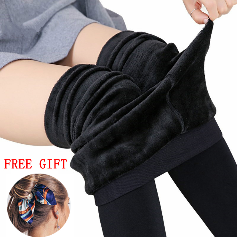 Winter Leggings Women Plus Size Leggings Warm Velvet Leggings High Waist Solid Leggings Pants Women Leggings|Leggings| - AliExpress