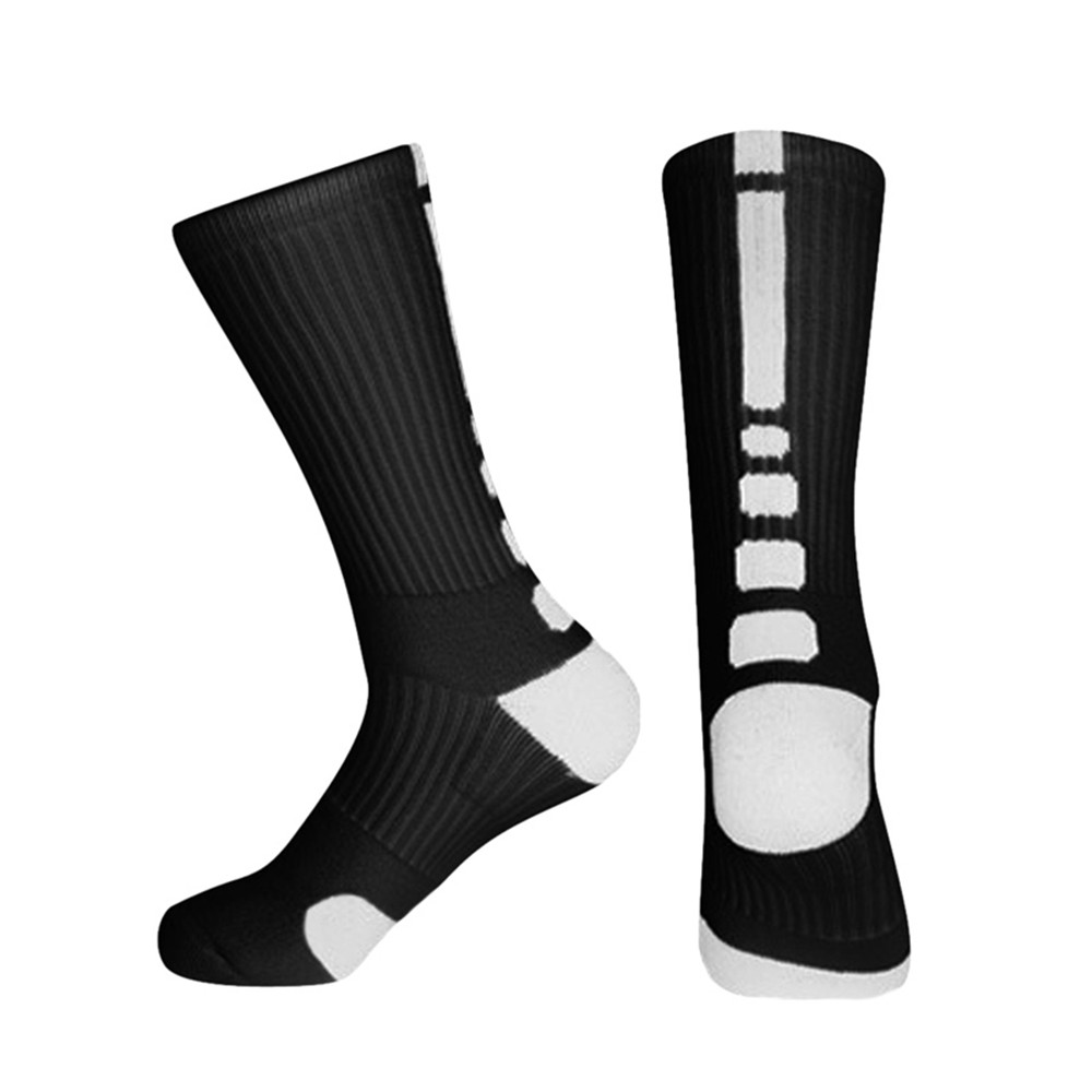 2019 Sfit Men Professional Basketball Socks Outdoor Sports Cycling Running Football Hiking Compression Socks New